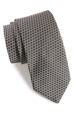 Hexagon Silk Tie by Ted Baker London in The Good Wife