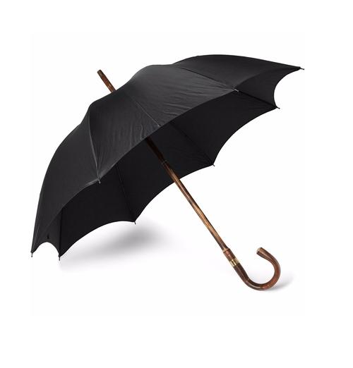 Chestnut Wood-Handle Umbrella by Kingsman + Swaine Adeney Brigg in Kingsman: The Secret Service