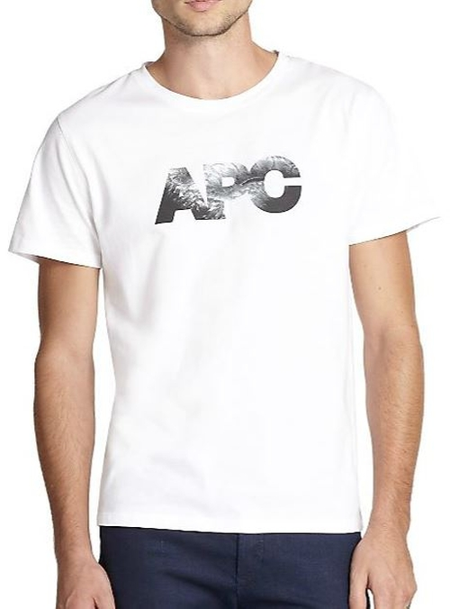 Graphic Tee by A.P.C. in Ballers