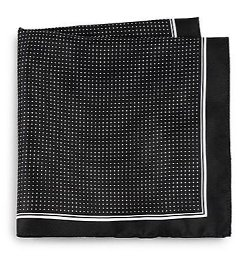 Micro Dot Silk Pocket Square by Boss Hugo Boss in Sex and the City 2