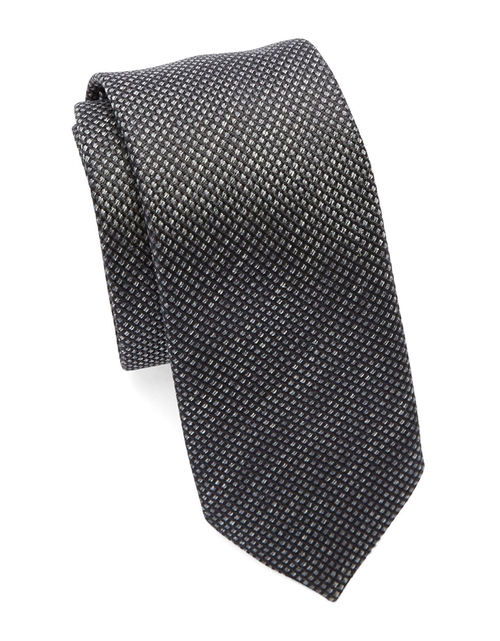 Silk Textured Diamond Tie by Hugo Boss in Suits - Season 5 Episode 7