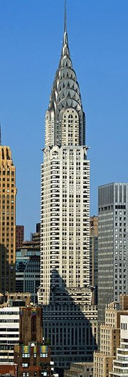 New York City, New York by Chrysler Building in Top Five