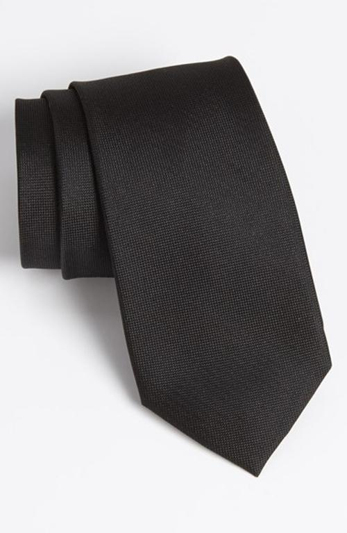 Woven Silk Tie by Calibrate in Lee Daniels' The Butler