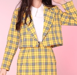 Tartan Blazer by GFD in Clueless