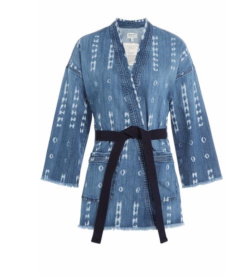 The Kimono Jacket by Current/Elliott in Pretty Little Liars - Season 7 Episode 4