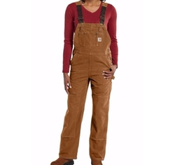 Unlined Bib Overalls by Carhartt in Love