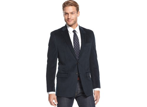 Solid Velvet Sport Coat by Lauren Ralph Lauren in Begin Again