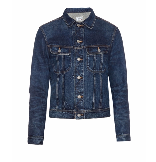 Long-Sleeved Denim Jacket by Polo Ralph Lauren in Urge