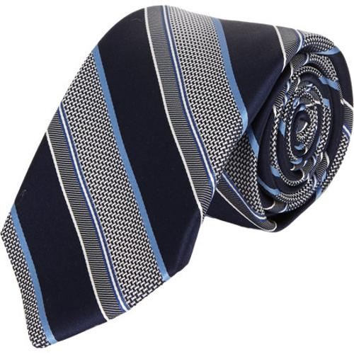 Diagonal-Stripe Neck Tie by Fairfax in Addicted