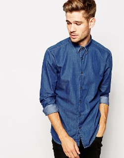 Chambray Shirt by Selected in If I Stay