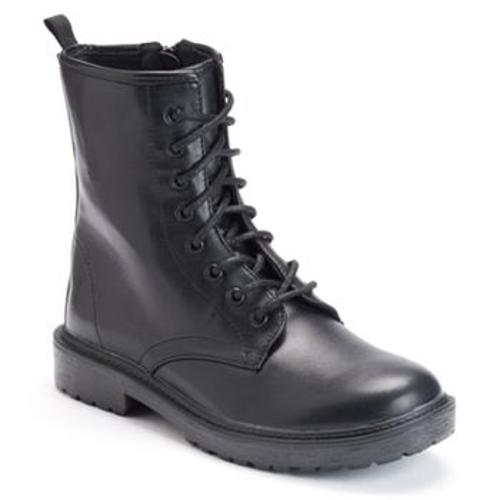 Women's Combat Boots by Mudd in Step Up: All In