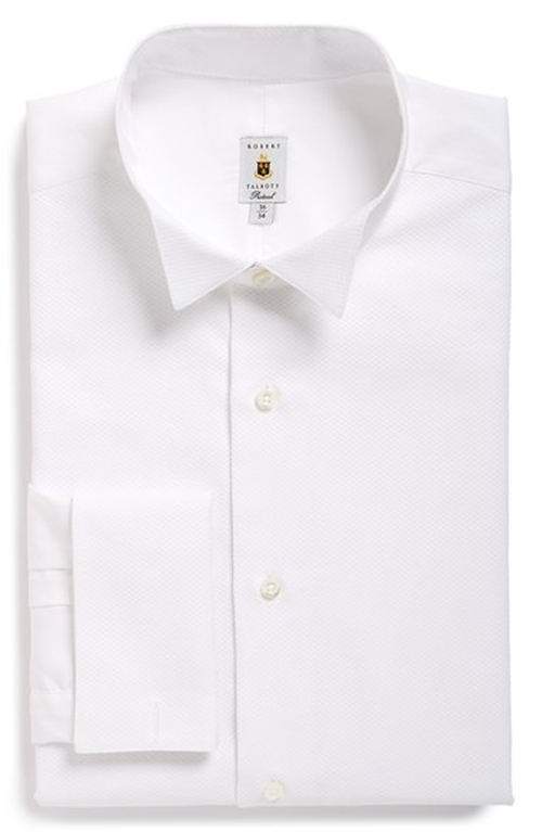 Bib Front Tuxedo Shirt by Robert Talbott in Ocean's Eleven