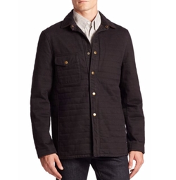 Tyson Quilted Jacket by Billy Reid in Billions