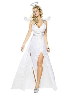 Angel Goddess Adult Womens Costume by Spirit Halloween in The Vampire Diaries