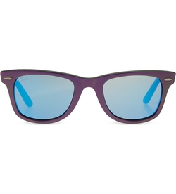 Mirrored Lenses Wayfarer Sunglasses by Ray-Ban in Spring Breakers