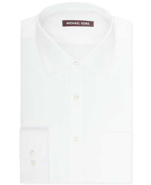 Solid Sateen Dress Shirt by Michael Kors in (500) Days of Summer