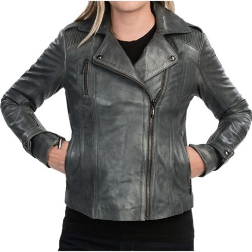 Leather Moto Jacket by Bernardo in Fast & Furious 6