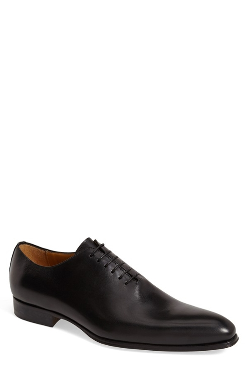 'Vitello' Wholecut Oxford Shoes by Dogen in Ant-Man
