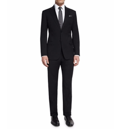 G-Line New Basic Two-Piece Wool Suit by Armani Collezioni in Empire