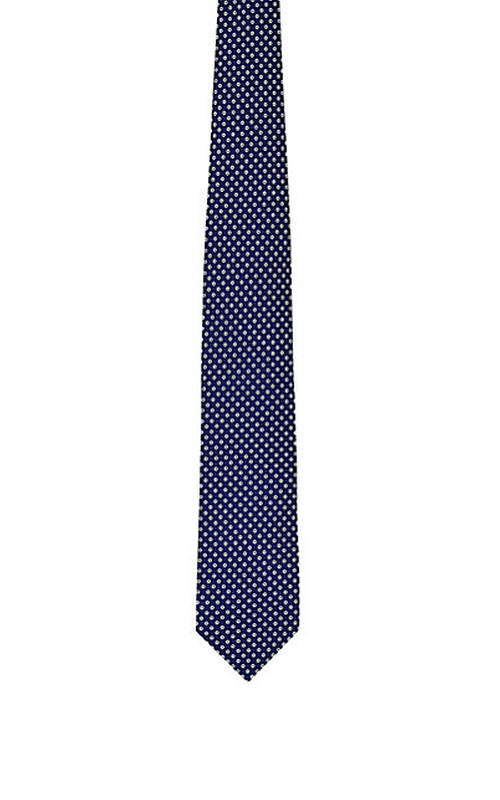 Micro-Circle-Pattern Necktie by Drake's in Vinyl - Season 1 Episode 1