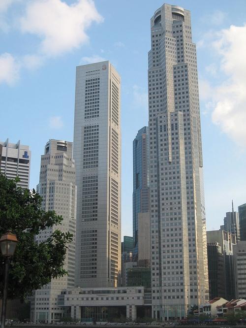 UOB Plaza 1 Singapore in Hitman: Agent 47
