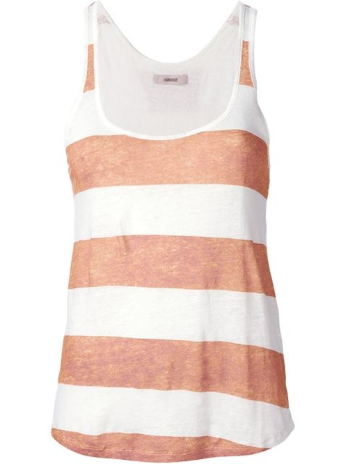 'Sok' Striped Tank Top by Humanoid in Sex and the City
