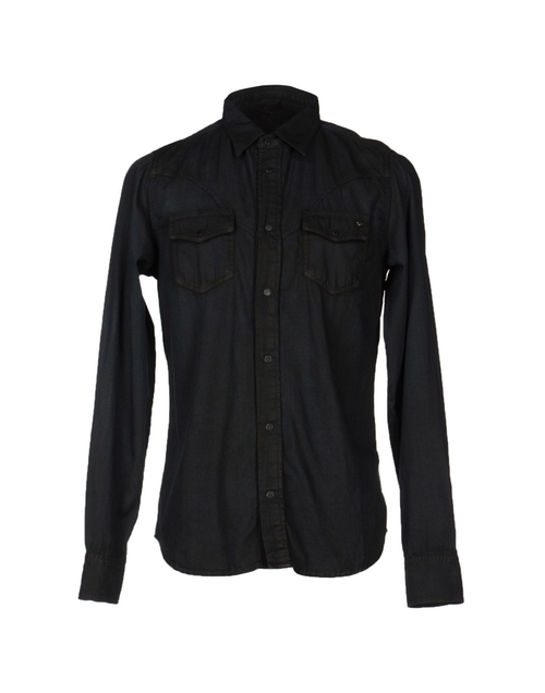 Denim Pocket Shirt by Diesel in Ride Along