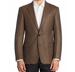 Virgin Wool & Cashmere Sportcoat by Armani Collezioni in The Flash