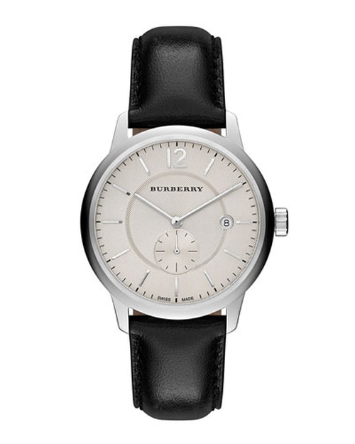 Classic Round Watch by Burberry in Steve Jobs