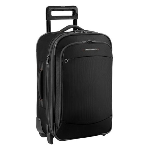 Luggage Carry On Expandable Upright Bag by Briggs & Riley in Blackhat