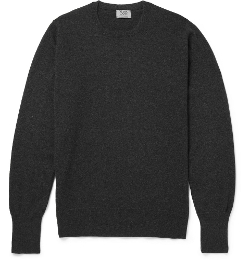 Cashmere Crew Neck Sweater by William Lockie in Before I Wake