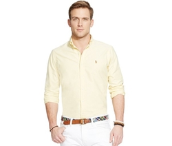 Yellow Oxford Shirt by Polo Ralph Lauren in Scream Queens