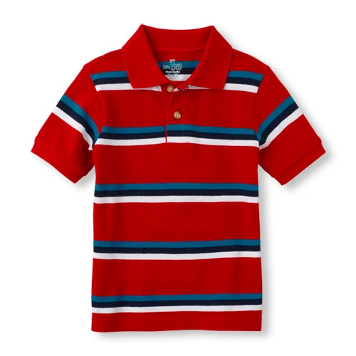 Striped Polo by The Children's Place in Masterminds