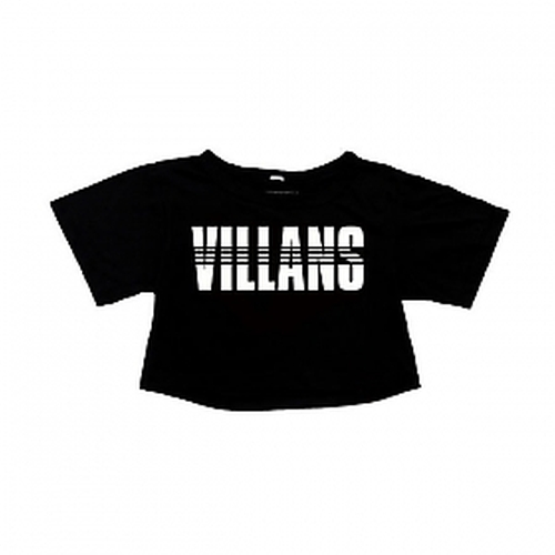 Women's Dashed Crop Top by Villans in Keeping Up With The Kardashians - Season 11 Episode 3