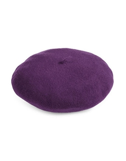 Water-Repellent Wool Felt Beret by Parkhurst in Scream Queens