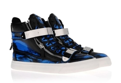 Blotchy Print Hi-Top Sapphrie Sneaker by Giuseppe Zanotti in Get Hard
