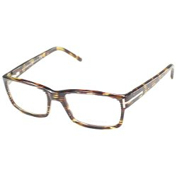 Havana Rectangle Plastic Eyeglasses by Tom Ford in The Gunman