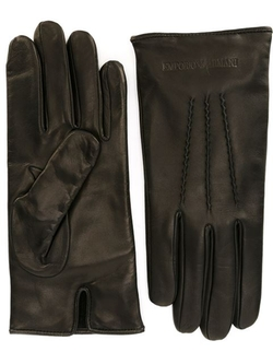 Stitching Detail Gloves by Emporio Armani in Crimson Peak