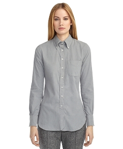 Corduroy Button-Down Shirt by Brooks Brothers in Before I Wake