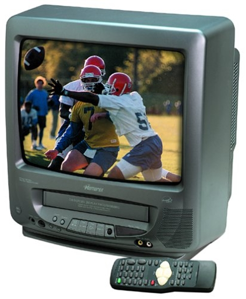 MVT2135B 13-Inch TV/VCR Combo by Memorex in While We're Young