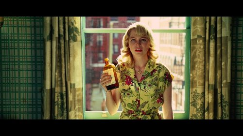 Custom Made Flowery Yellow Day Dress (Michelle Williams) by Sandy Powell (Costume Designer) in Shutter Island