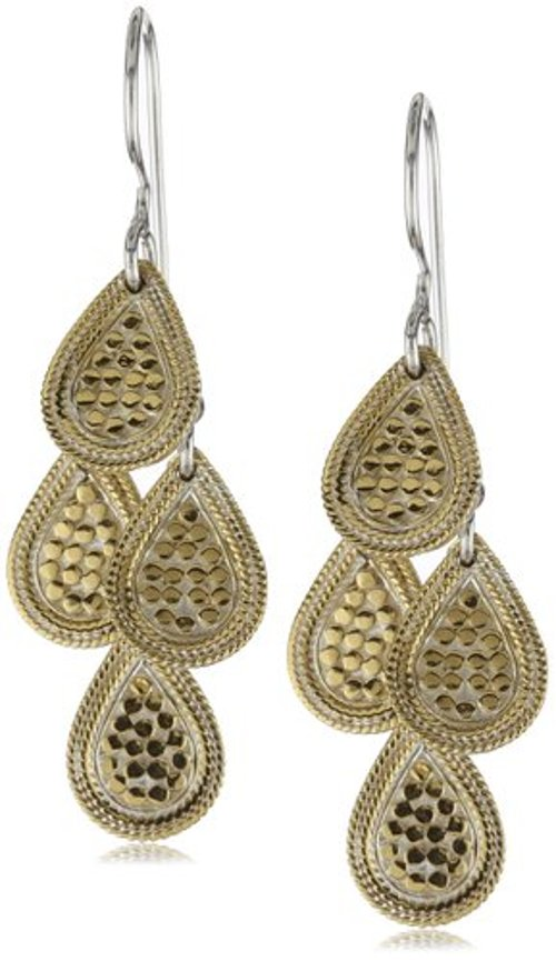 Gili Mini Chandelier Gold-Plated Earrings by Anna Beck Designs in Sherlock Holmes: A Game of Shadows