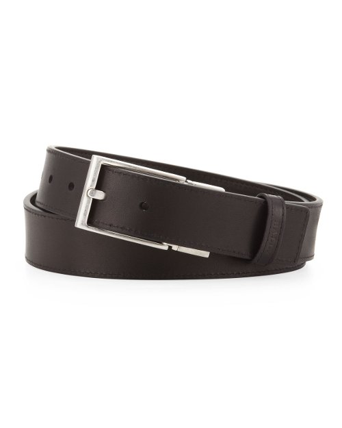 Tamer Reversible Web-Stripe Belt by Bally in Begin Again