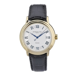 Automatic Stainless Steel Silver Dial Watch by Raymond Weil in Ballers