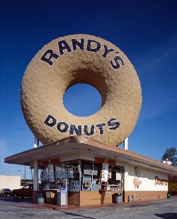 Inglewood, California by Randy's Donuts in Dope