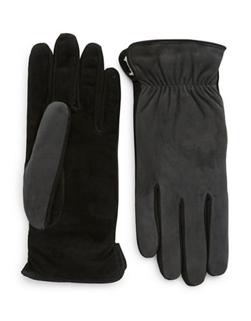 Suede Touch Gloves by Grandoe in Love the Coopers