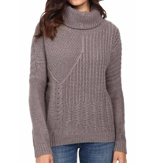 Stanton Cable Pullover Sweater by Splendid in Keeping Up With The Kardashians - Season 12 Episode 4