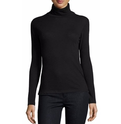 Long-Sleeve Cashmere Turtleneck by Majestic Paris in The Boss