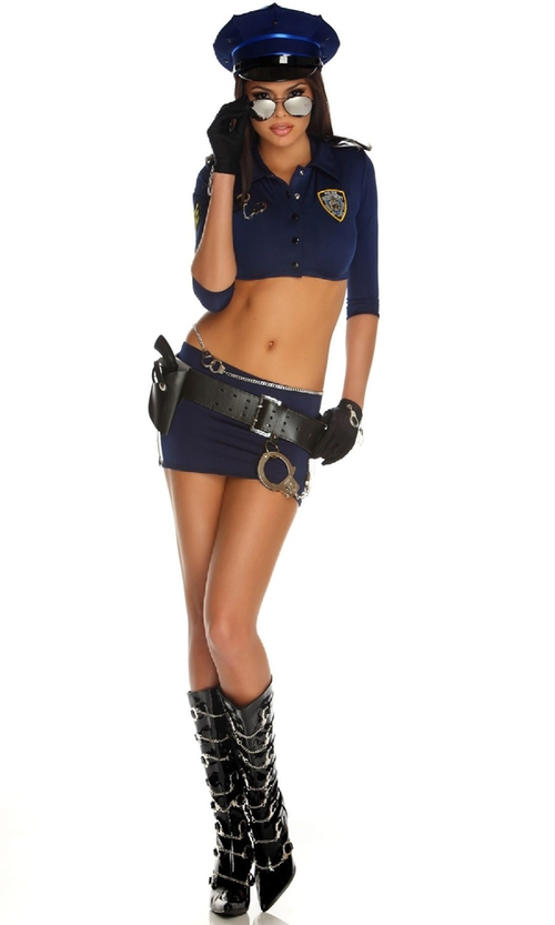 Women's Armed And Dangerous Police Costume by Forplay in Ride Along 2