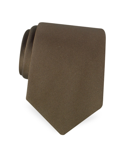 Solid Twill Silk Tie by Dolce & Gabbana in Sex and the City